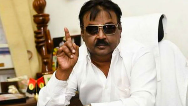 DMDK leader Vijaykanth affect corona - hospital treatment