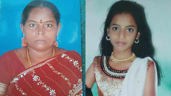 young woman commits suicide with daughter near villupuram