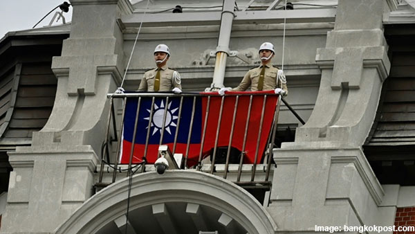 Chinese diplomats violent attack on Taiwan officials