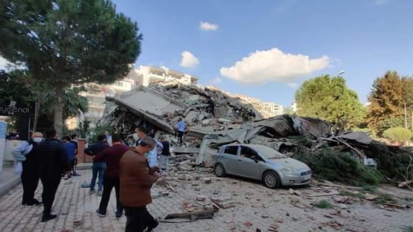 Magnitude 7.0 earthquake jolts Turkey and Four killed