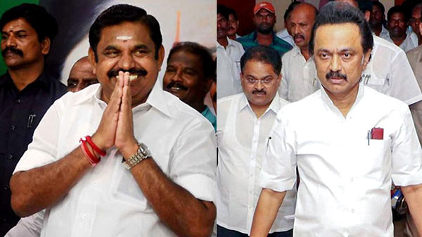 Chief Minister Edappadi Palanisamy and Mk Stalin journey on same flight today