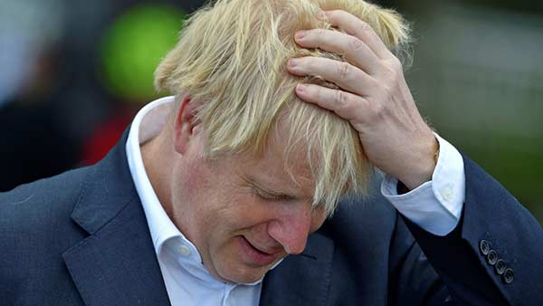 England Pm borris johnson plan to resign his post
