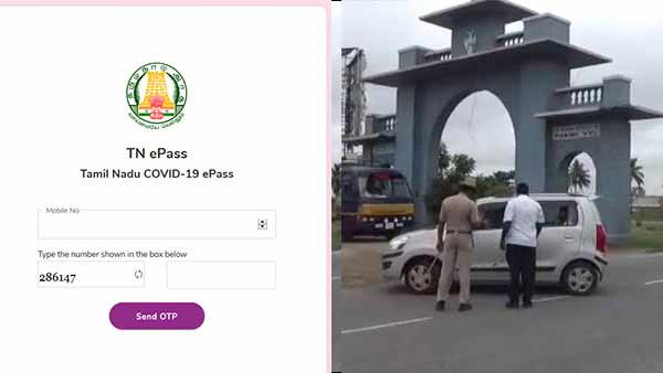 Why e-pass between states; chennai high Court notice to Tamil Nadu government