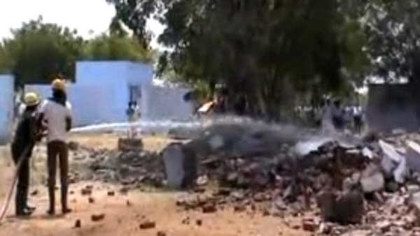 Virudhunagar: 5 killed in an explosion at the Erichanatham firecracker factory