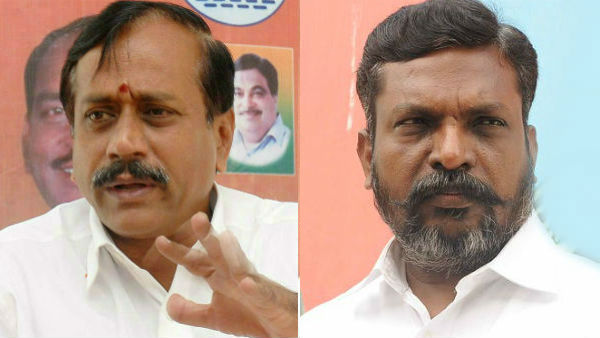 H Raja demands to arrest VCK President Thirumavalavan