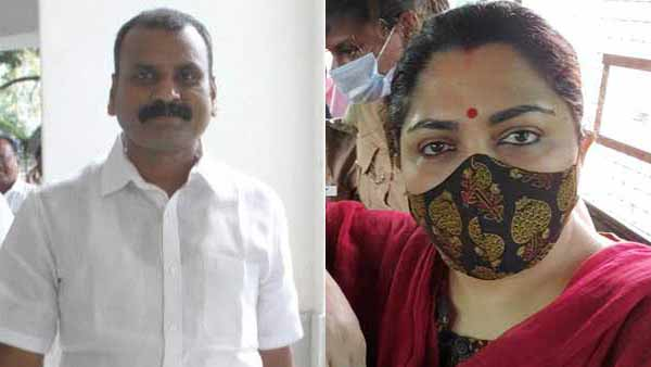 It is illegal to arrest Khushbu for banning BJP struggle says L Murugan