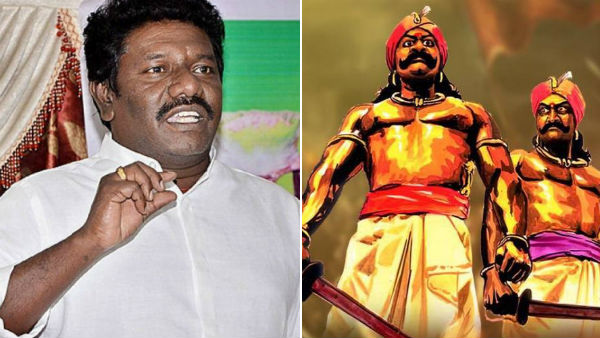 Karunas says, a statue of Maruthu Brothers should be installed in the Parliament premises