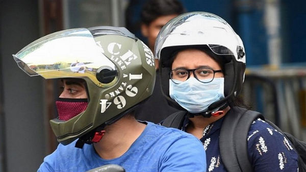 Mask is mandatory in Bangalore for drivers even they are alone in the car