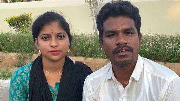 சவுந்தர்யாவும் நானும்...திருமணம் குறித்து...கள்ளக்குறிச்சி எம்எல்ஏ பிரபு  வீடியோ வெளியீடு!! | kallakurichi MLA Prabhu video released with his wife  Soundarya - Tamil Oneindia