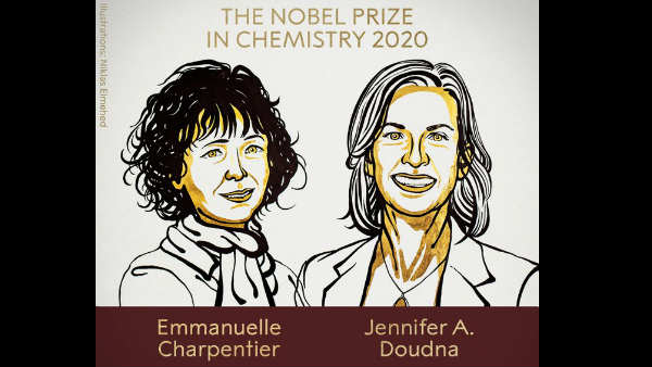 The 2020 Nobel prize in chemistry has been awarded to two women scientists