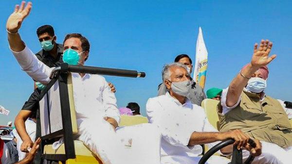 காங்கிரஸ் ஆட்சிக்கு வந்தவுடன்... புதிய விவசாய சட்டங்கள் குப்பையில் வீசப்படும்... ராகுல் உறுதி..!