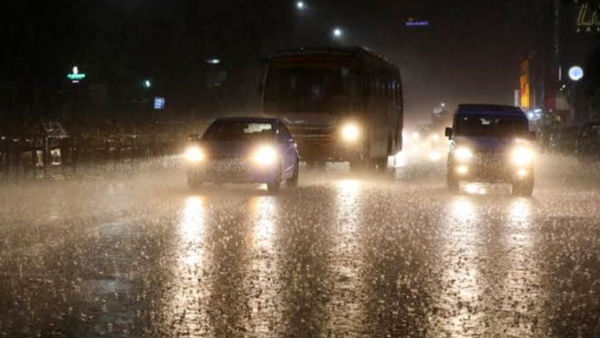 Night time rain will continue for 4 days, says Weatherman