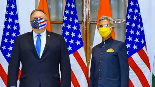 India-US 2+2 talks discussions at Hyderabad House in New Delhi