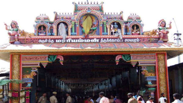 Trichy Samayapuram Mariamman temple Rs. 72 lakh devotees donate
