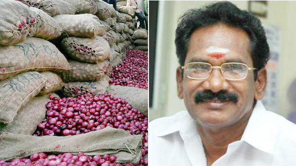 Action to sell onions through ration shops if prices rise - Minister Sellur Raju