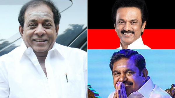 Actor Singamuthu favours Edappadi Palansami as CM again