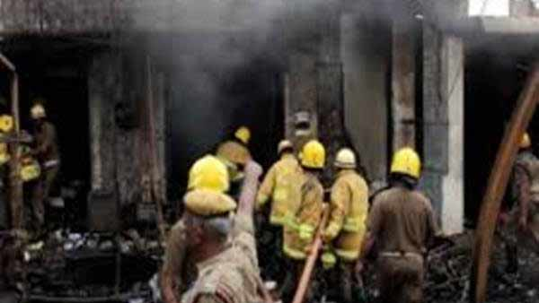 Sivakasi textile shop fire - Millions of textiles burnt to ashes