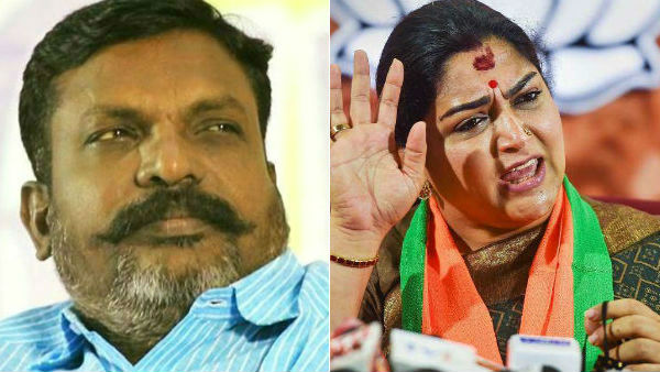 Thirumavalavans Manu Dharma speech ... Did Khushbu wait for 15 years and get revenge?