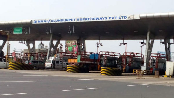 All vehicles on the Trichy-Chennai road are going free of charge as Ulundurpet tollgate