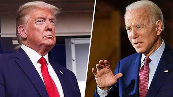 America presidential candidates Trump vs Joe biden Debate