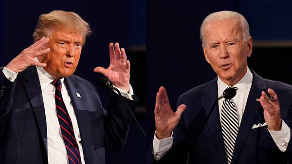 Trump questions to Joe biden as what he has done for 8 years