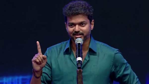 Actor Vijay ready to enter politics discussion with Fans