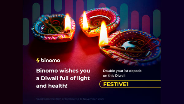 Binomo Trading Platform Continues To Give Gifts In Honor Of Diwali