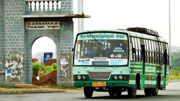 8 மாதங்களுக்கு பிறகு.. தமிழகம்-கர்நாடகா இடையே இன்று துவங்கியது அரசு பஸ் சேவை.. 6 நாட்கள் மட்டுமே