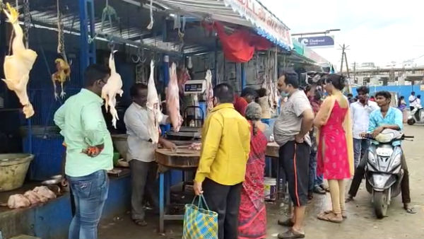 Mutton flesh price rises to Rs 100 in Salem