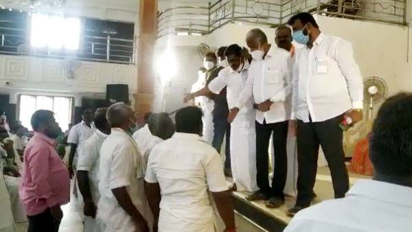 Pudukottai Congress executives complain about DMK