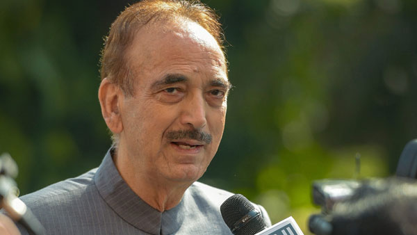 A huge disconnect between people and Congress leaders: Ghulam Nabi Azad