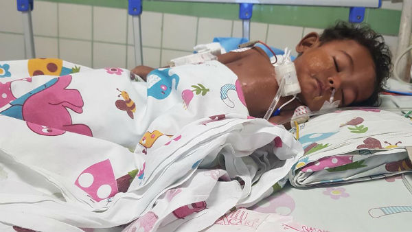 Help 11 Month old Ajay recover from heart problem