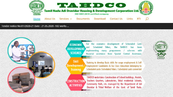 Job offers in TAHDCO for Assistant Engineer (Civil)