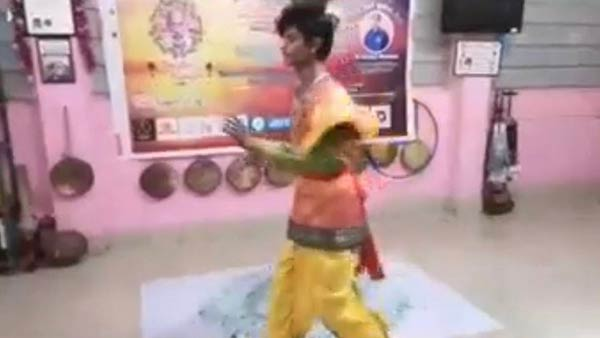 positive story: Coimbatore youth perform Karakattam on glass piece,,world record done