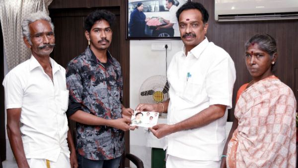 Minister MR Vijayabaskar accepted full tuition fee for the medical studies of the son of an ice trader