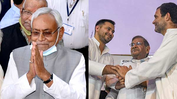 RJD, Cong, left to boycott Nitish Kumar's oath taking ceremony
