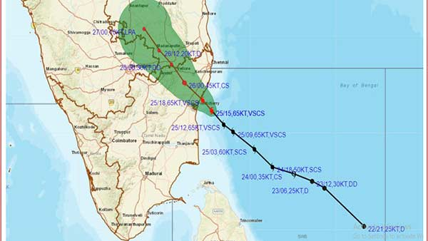Nivar Cyclone crosses the coast will continue to wind and heavy rain