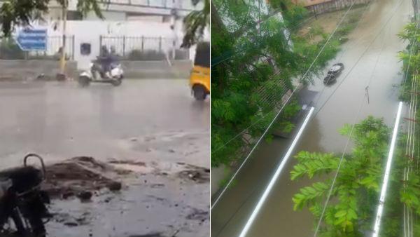 கனமழையால் வேகமாக நிரம்பிய 14 ஏரிகள்.. வெள்ள நீரில் மிதக்கும் சென்னை புறநகர் பகுதிகள்.. மக்கள் அவதி