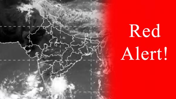 Red Alert for Five Districts in Tamil nadu: Meteorological center warning