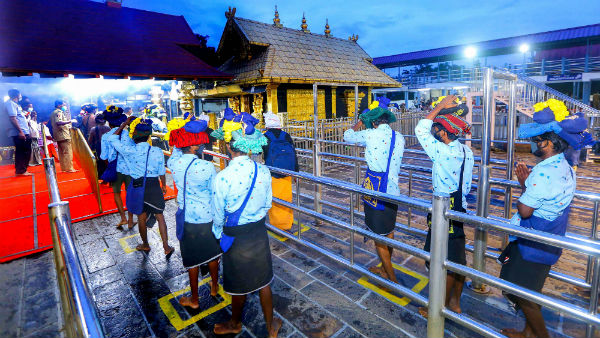 Erumely with out Sabarimala pilgrims