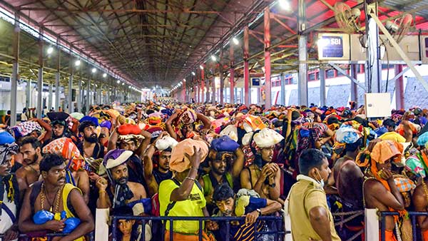 3 police personnel tests Corona positive in Sabarimala