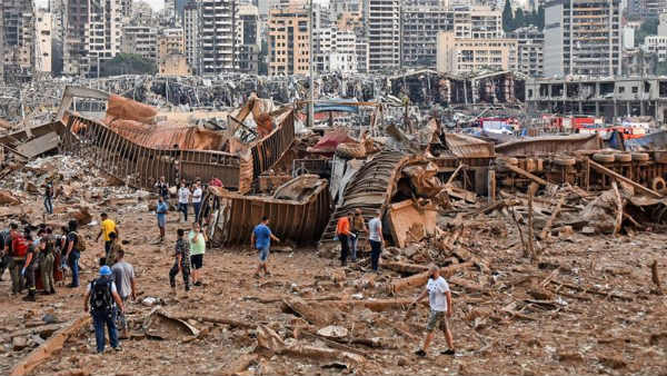 Year Ender 2020: lebanons Beirut huge explosion: Hundreds of people died