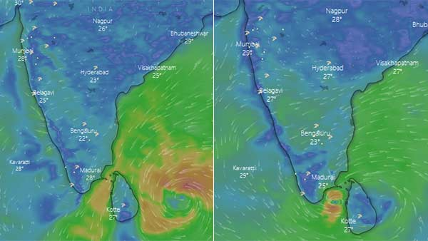 IMD says that Burevi Cyclone will landfall on Dec 4 near Kanyakumari