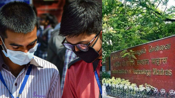கொரோனா கிளஸ்டராக மாறிய சென்னை ஐஐடி.. இன்று ஒரே நாளில் 33 பேருக்கு பாதிப்பு.. அனைவருக்கும் டெஸ்ட்