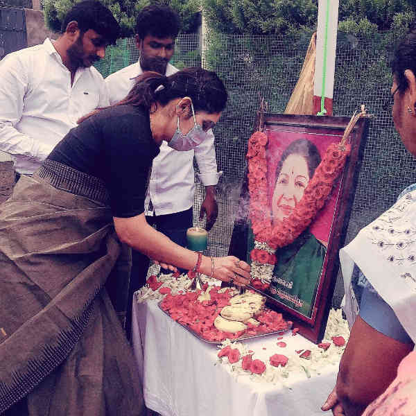 Jayalalitha 4th Anniversary Commemorative