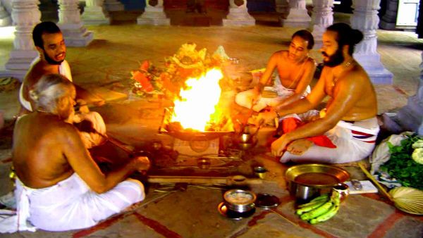 All Devata Homa with powerful samiths on National Farmers Day
