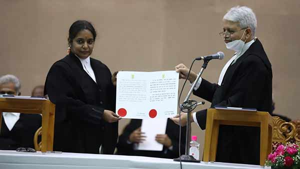 Husband and wife takes office as judges in High court