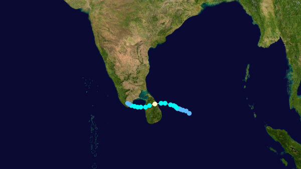 After 2o years Severe Cyclone to Hit Srilanka