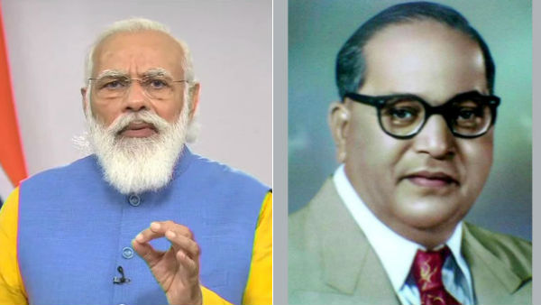 'BR Ambedkar's thoughts, ideals continue to give strength to millions', says PM modi