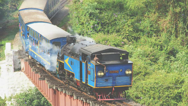 Ooty hill train service resumes after 10 months